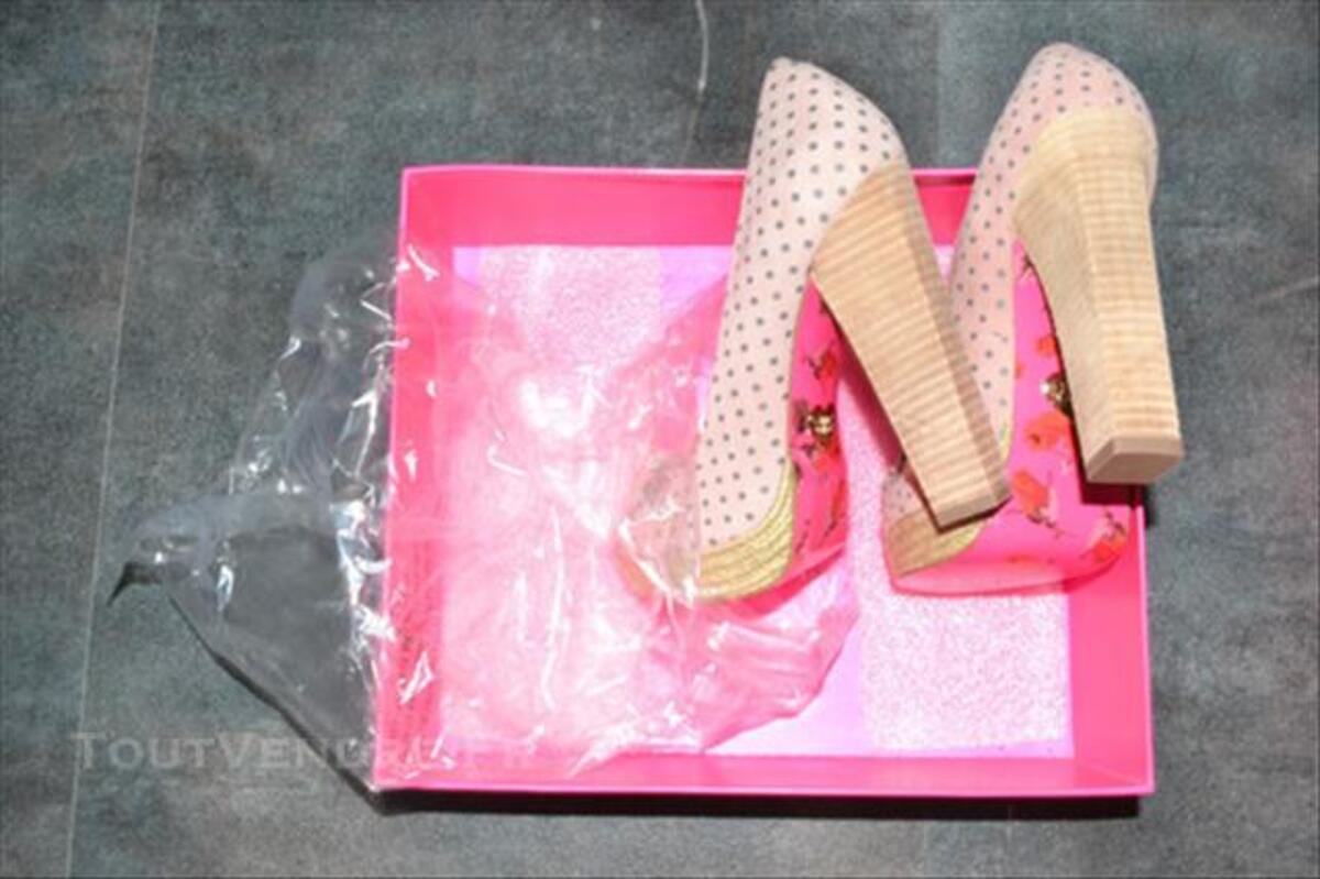 Pinup shoes rose à poids totalement neuve! en 36 84046286