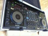 Pioneer CDJ 900 & 2x DJM 800 & Flight Case professionnel DJ