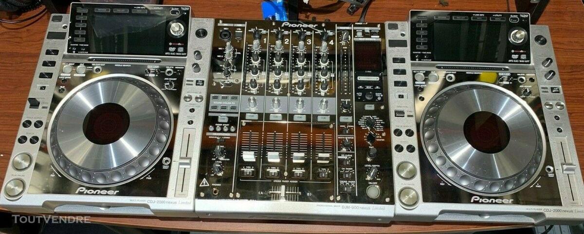 PIONEER DJ Limited Edition - CDJ 2000 NXS (x2) DJM 900 NXS 563502828