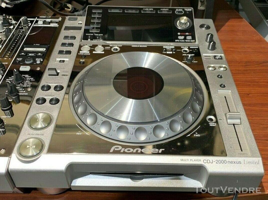 PIONEER DJ Limited Edition - CDJ 2000 NXS (x2) DJM 900 NXS 563502831