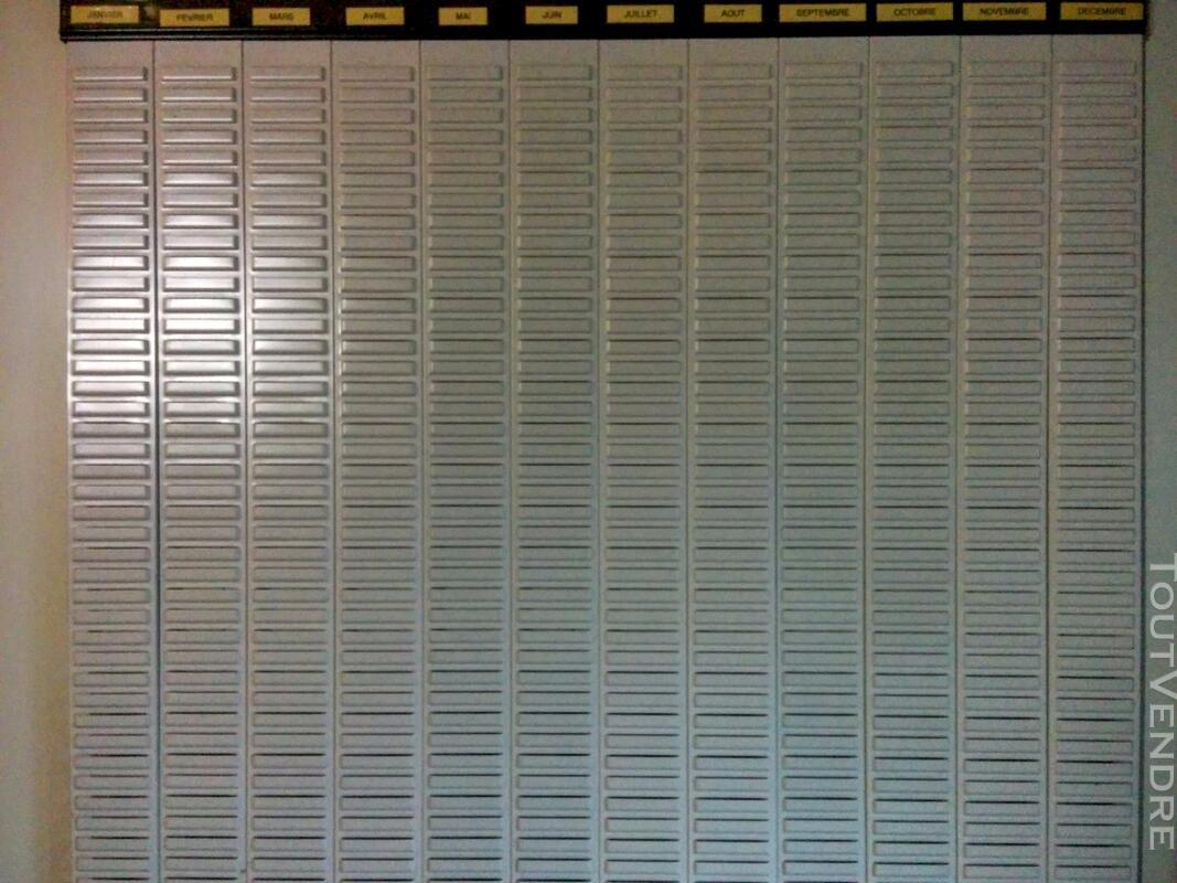 Planning mural Valrex 12 mois à fiche T 116648600
