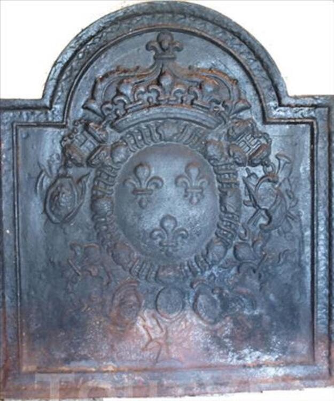 Plaque de cheminée en fonte 77282910