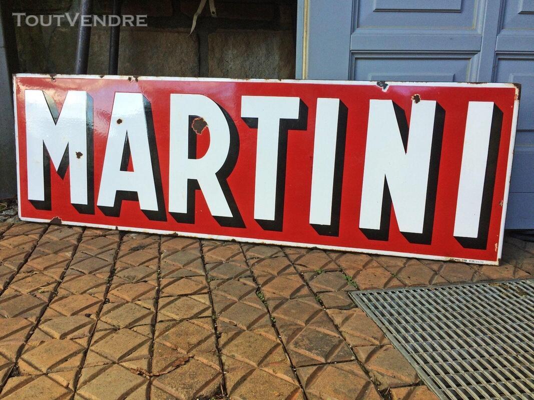 Plaque émaillée Martini 440211223
