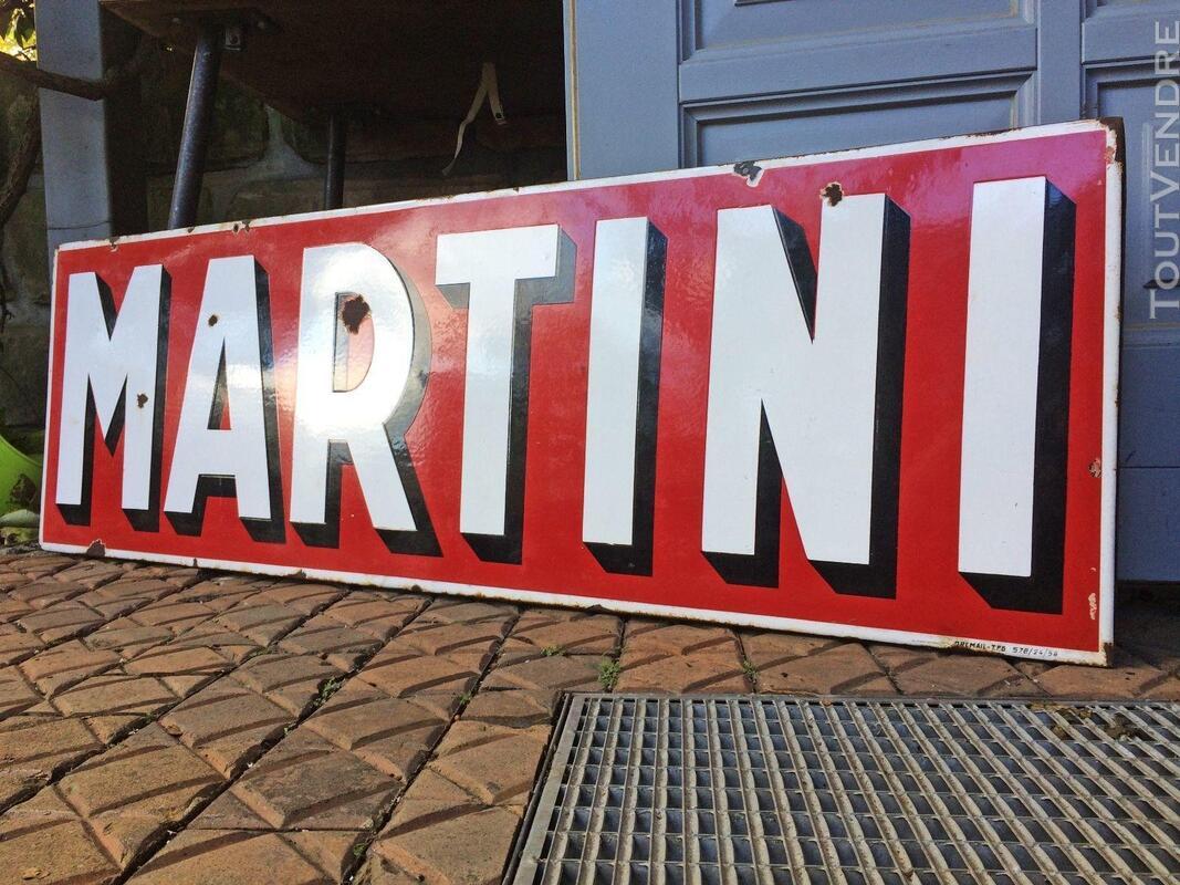 Plaque émaillée Martini 440211229