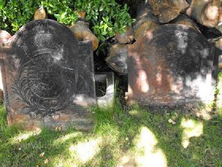 Plaque en fonte cheminée