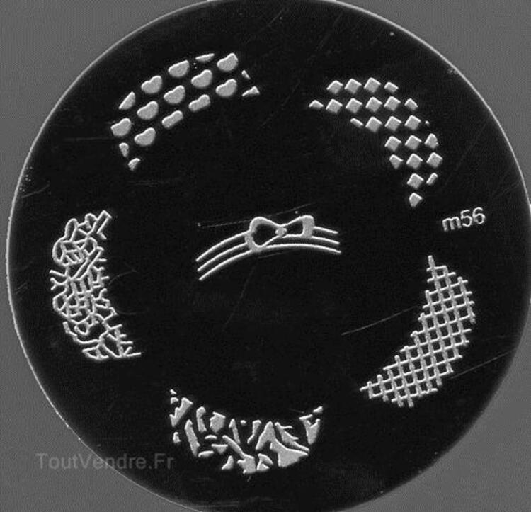 Plaque stamping nail art M56 66107104
