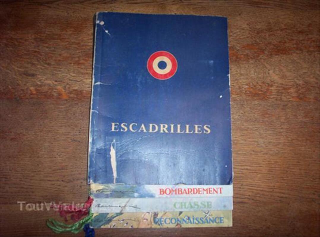 """Plaquette """" ESCADRILLES """" de 3 fascicules. 64393169"""