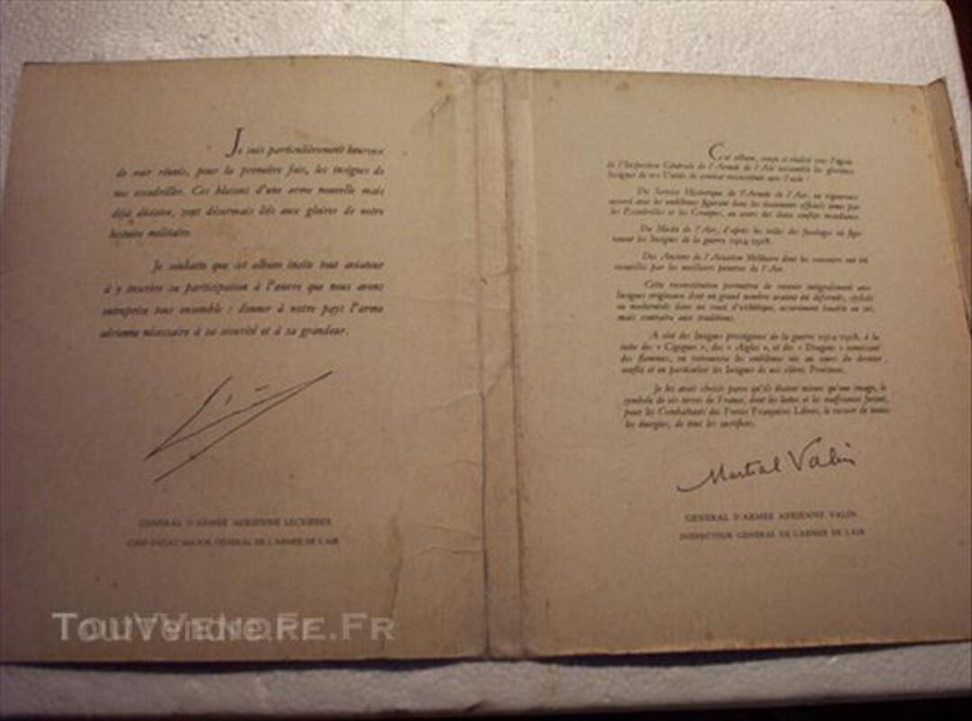 """Plaquette """" ESCADRILLES """" de 3 fascicules. 64393170"""