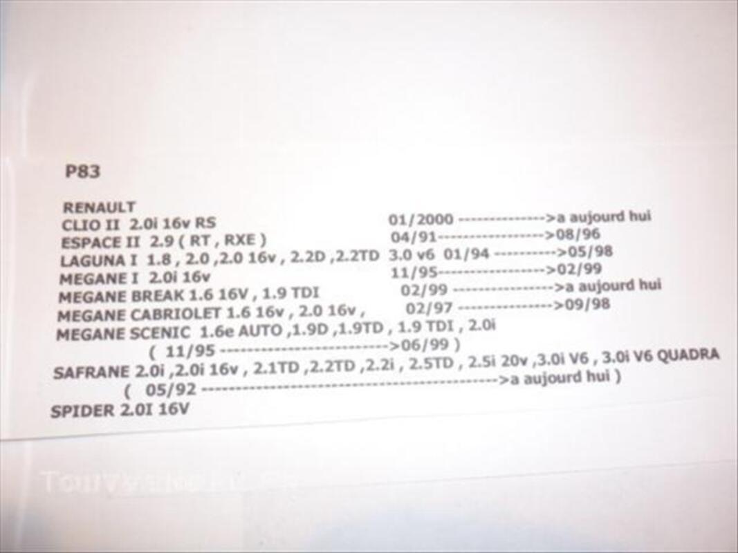 Plaquettes de frein marchal P 83 neuves sous blister 43901680