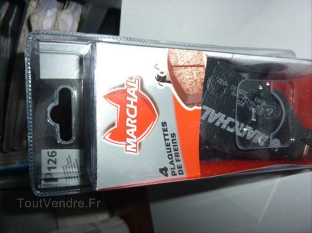 Plaquettes de frein marchal P126 CITROEN XSARA. PEUGEOT 56510783