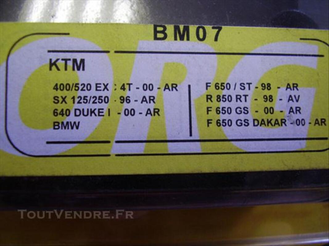 Plaquettes de frein neuves pour moto KTM et BMW   -BM07 76713943