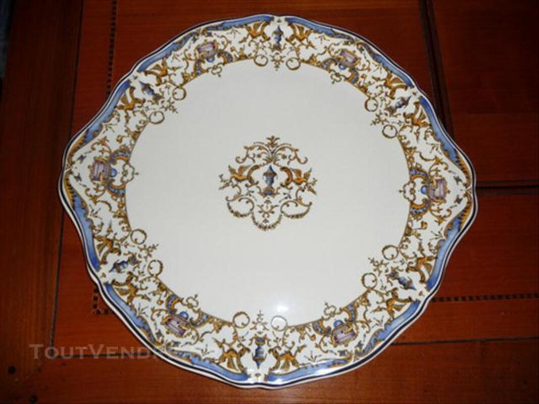 Plat à tarte en porcelaine de Gien 76722642