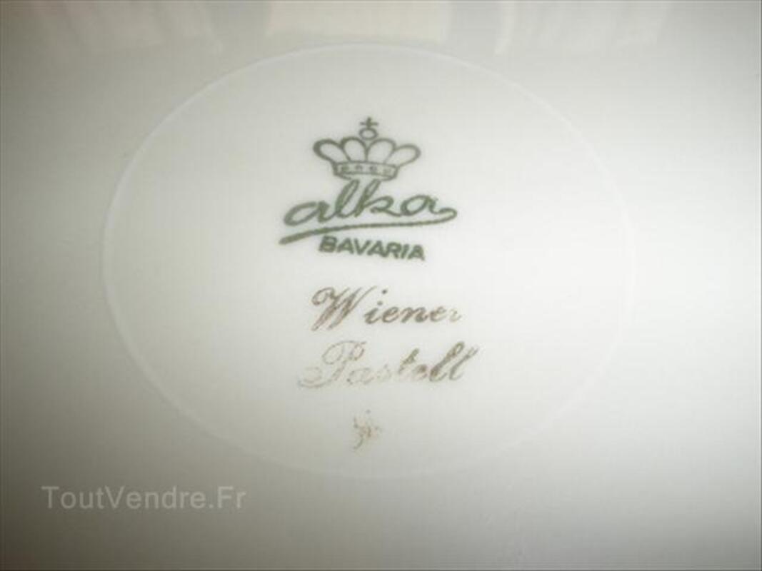 """PLAT EN PORCELAINE """"BAVARIA ALKA"""" 54565993"""