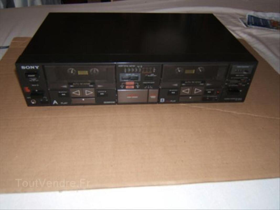 Platine double-cassettes SONY TC-W7R 55964431