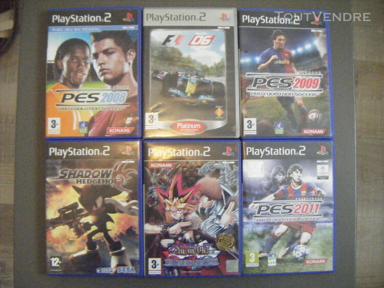 Play 2 + Volant + jeux play 2 240636652