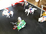 Play mobil cavaliers
