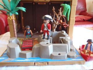 Playmobil - 4432 - Coffre Au Tresor Des Pirates