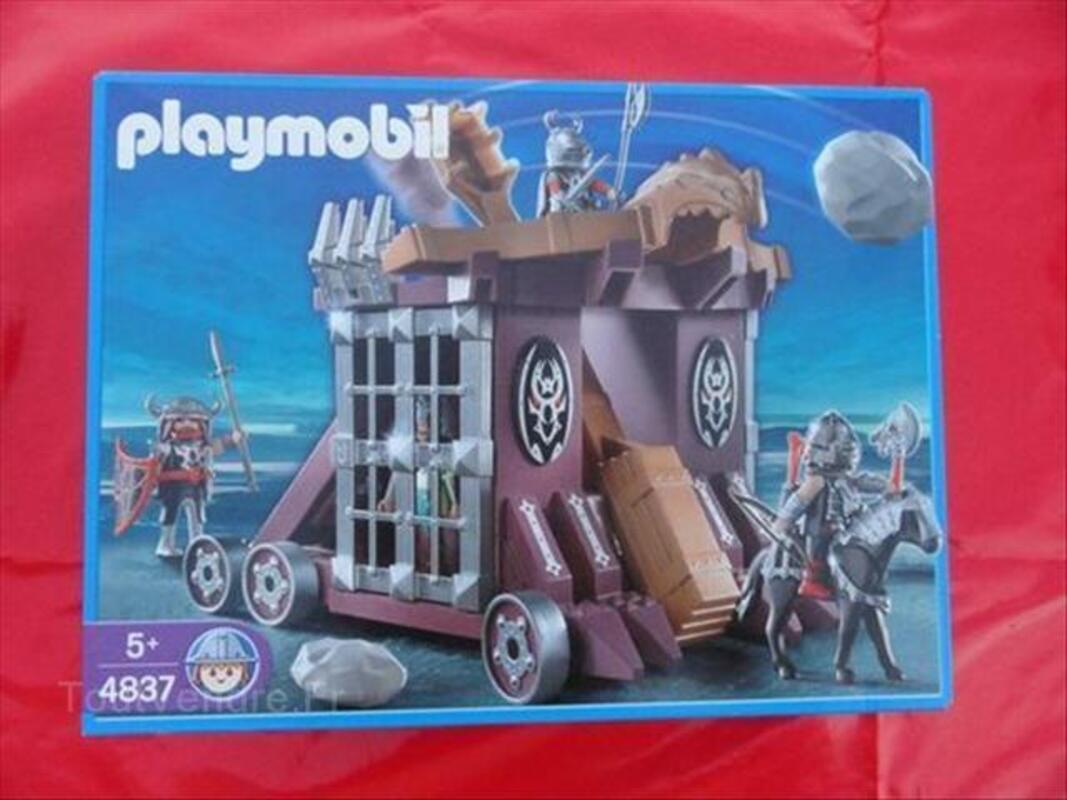 Playmobil 4837 Figurine Catapulte Géante neuf 64519753