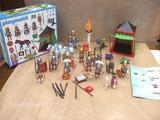 Playmobil campement romain + char + personnages