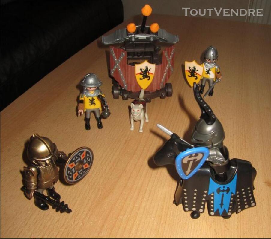 PLAYMOBIL chevaliers du Lion et baliste 291514100
