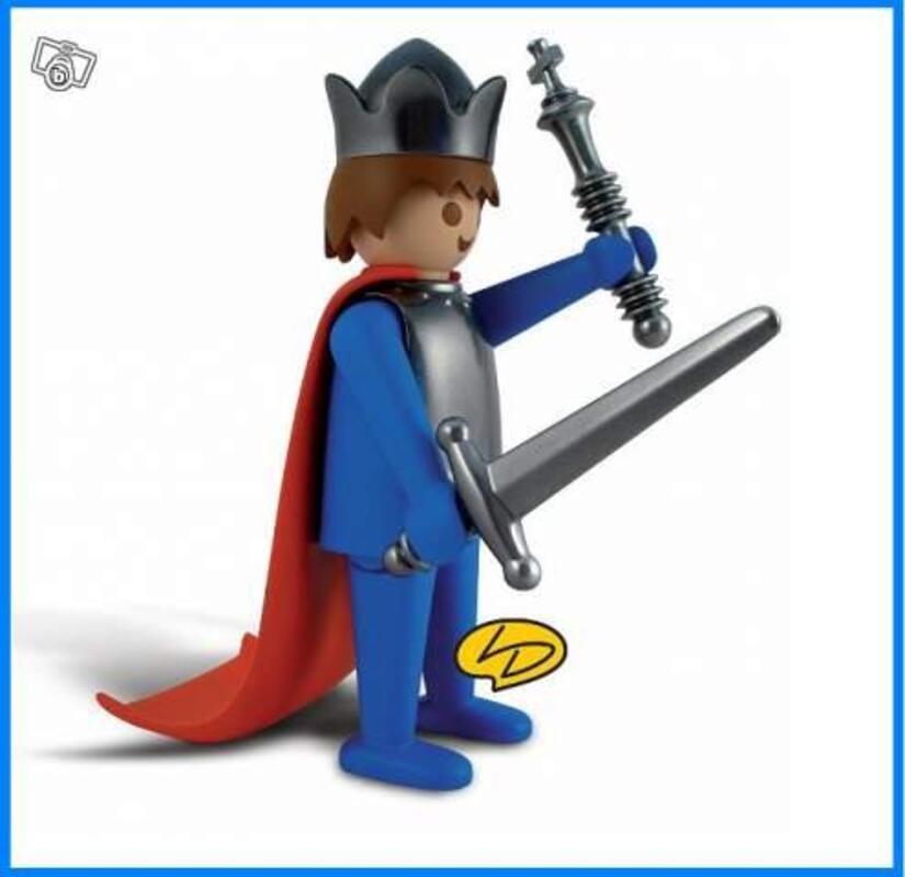 Playmobil: LE ROI leblon delienne figurine en résine 43007710