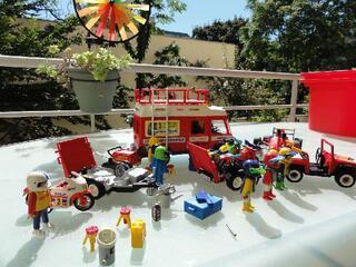 Playmobil - Lot sport mécanique