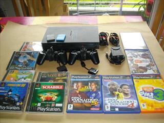 Playstation 2 + 11 jeux+ eye toy