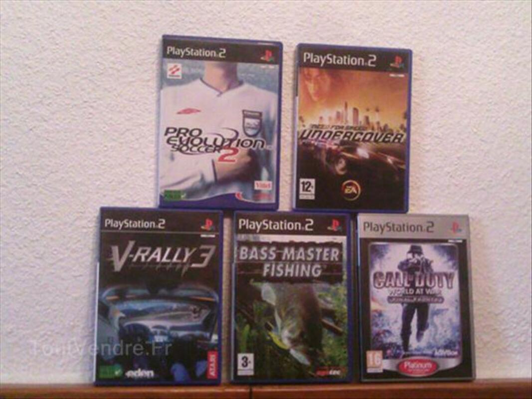 Playstation 2 + jeux 56047132