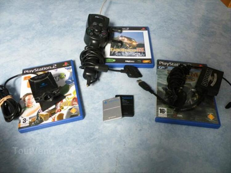 Playstation 2 + volant/pedale + manettes... 56350955