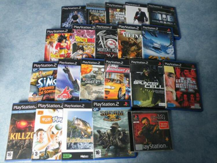 Playstation 2 + volant/pedale + manettes... 56350956