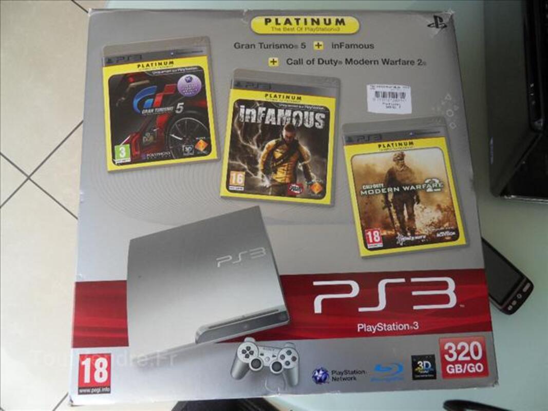 Playstation 3 320Go + jeux .acheté le 09/02/12  garanti 72276727