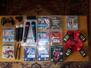 Playstation 3 Fat 80 gigas, accessoires et jeux