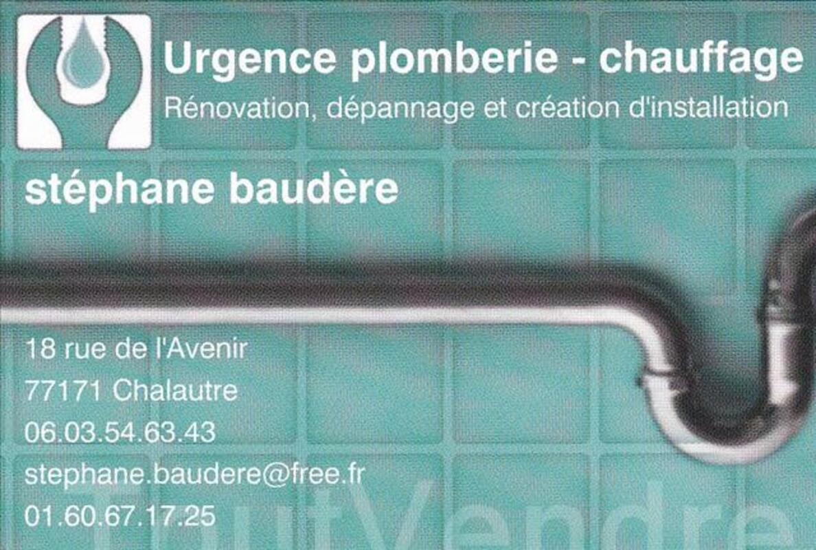 Plombier-chauffagiste 88603184