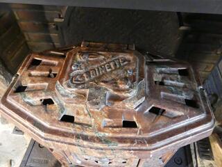 Poele à bois de collection GODIN - GODINETTE N°400 -