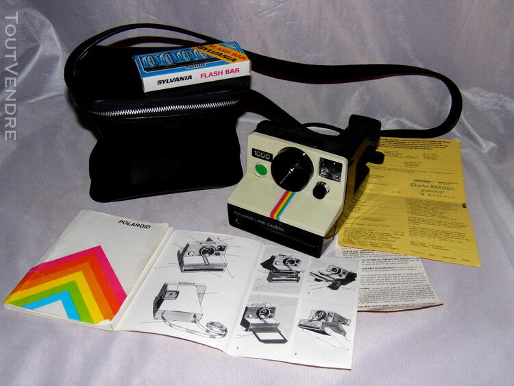 POLAROID 1000 POLAROID LAND CAMERA SX 70 PHOTO VINTAGE 167738593