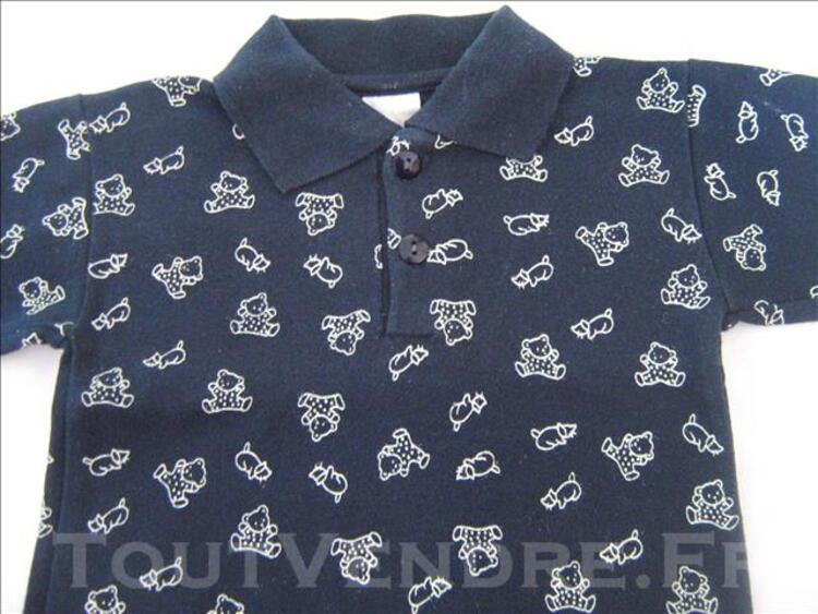 Polo motifs ours et chats 77190934