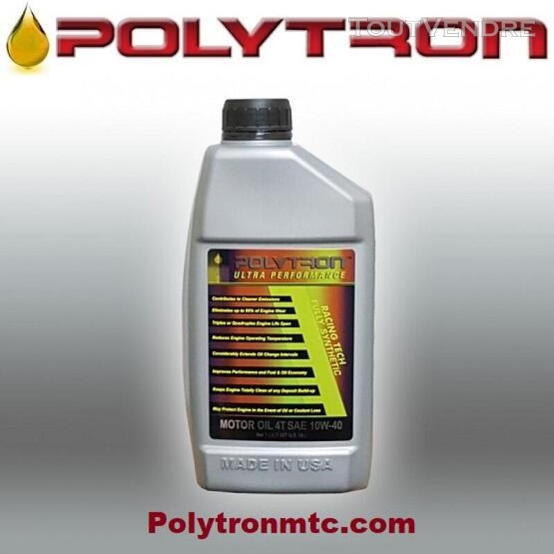 POLYTRON Racing 4T 10W-40 - Huile pour moteur de moto 627384882
