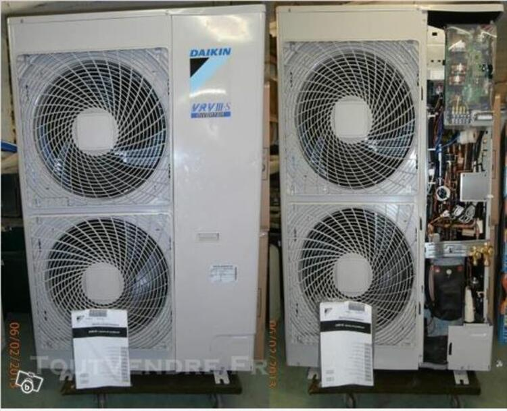 Pompe a chaleur air/air daikin + 2 splits neuve 84067226