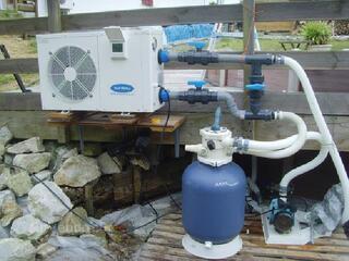 Pompe à chaleur reversible toutes piscines
