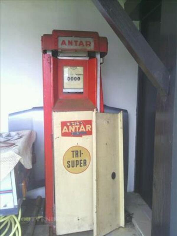 POMPE A ESSENCE ANTAR 1953 86141483