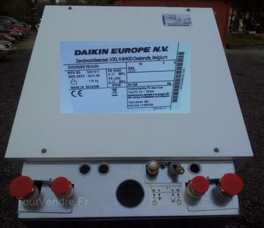 Pompe chaleur air/eau daikin module interieur neuf 102215553