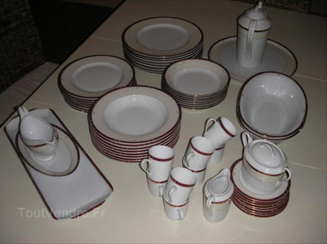 Porcelaine de Limoge, Service Philippe Deshoulieres 54576181