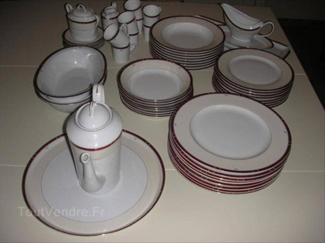 Porcelaine de Limoge, Service Philippe Deshoulieres 54576182
