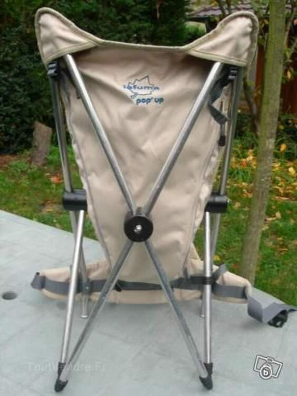 Porte bébé dorsal LAFUMA Pop Up 56193500