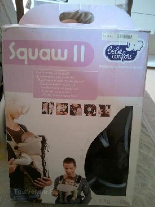 """Porte bébé marque """" Squaw """" bébé confort de Aubert neuf 93007056"""
