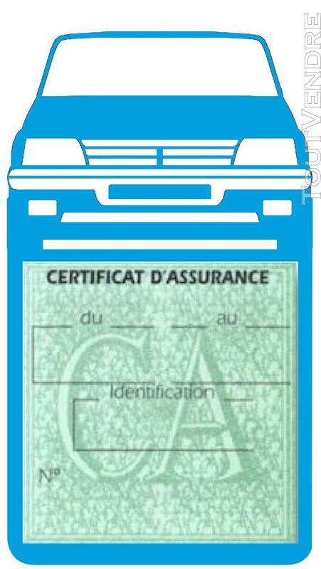 Porte étui vignette assurance Voiture 205 Peugeot 650691361