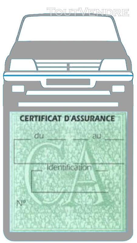 Porte étui vignette assurance Voiture 205 Peugeot 650691370