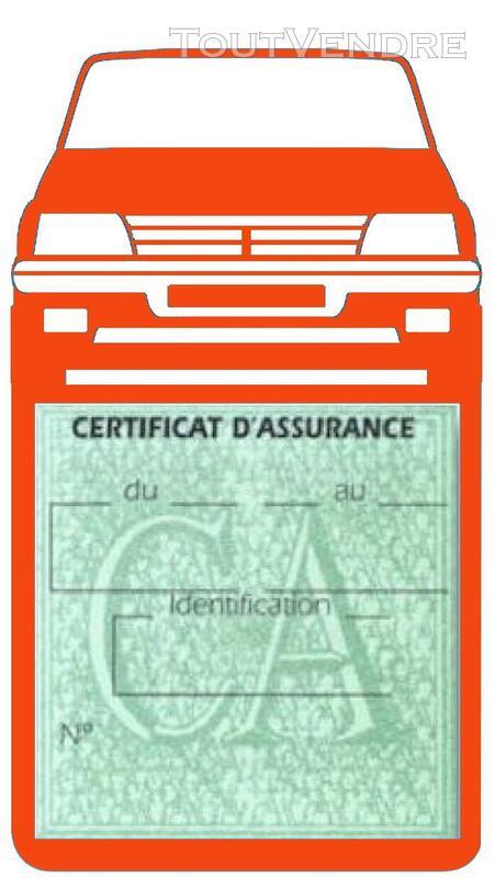 Porte étui vignette assurance Voiture 205 Peugeot 650691388