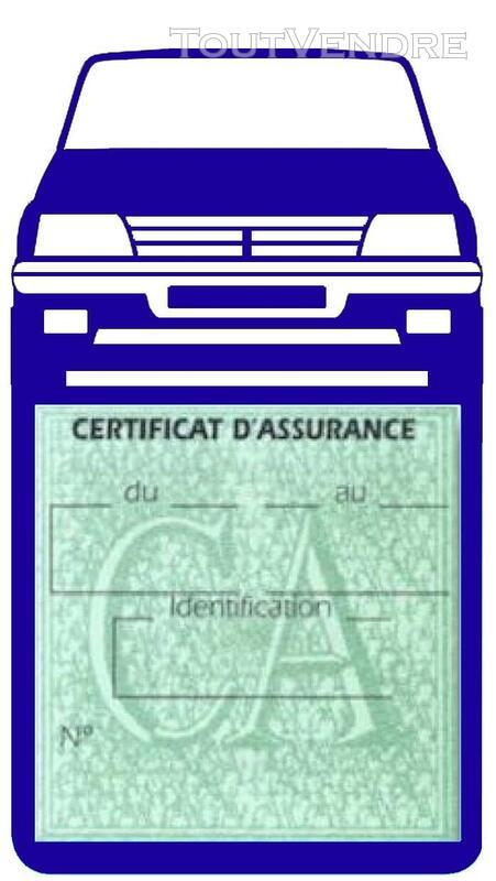 Porte étui vignette assurance Voiture 205 Peugeot 650691394