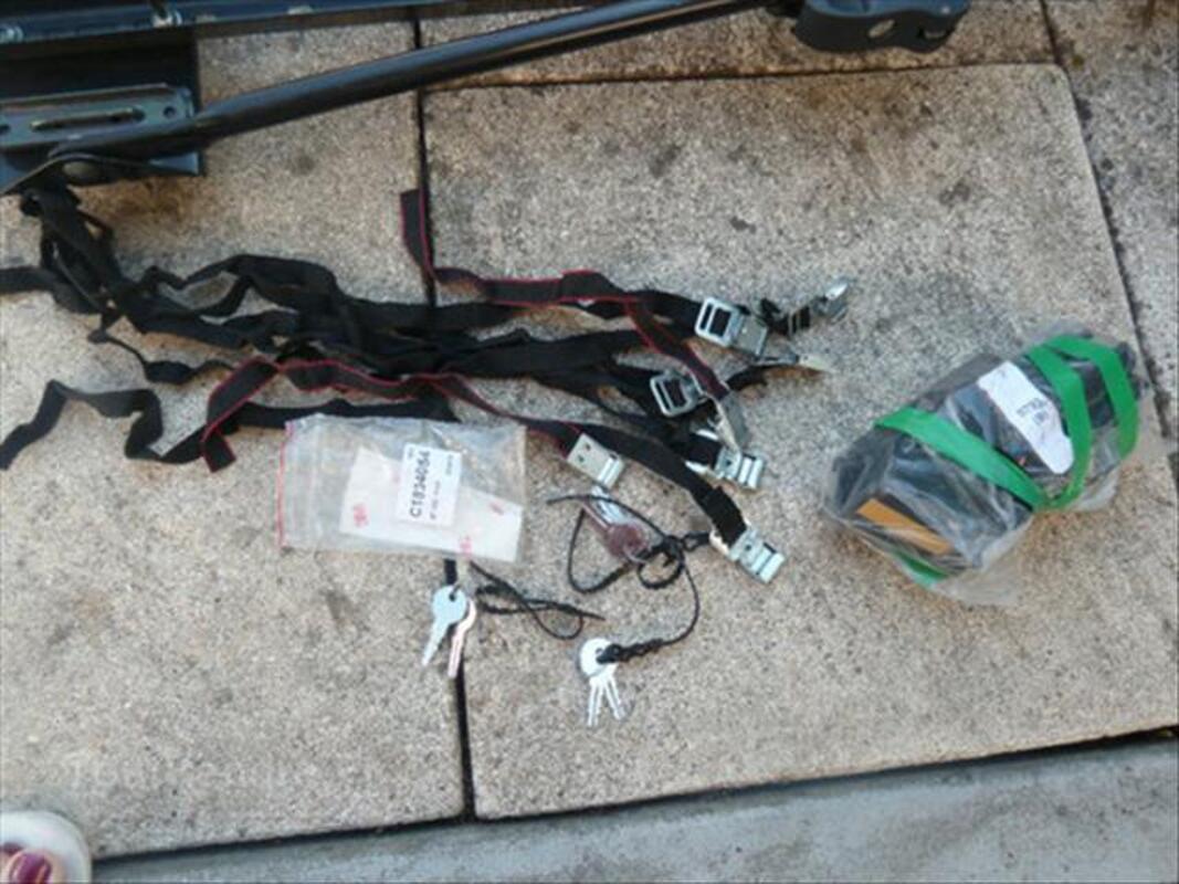 Porte vélo renault 56401532